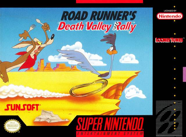 Road Runner's Death Valley Rally