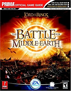 Lord Of The Rings Battle For Middle Earth II Prima Official Strategy Guide