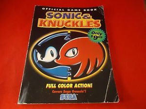 Sonic & Knuckles Official Game Book