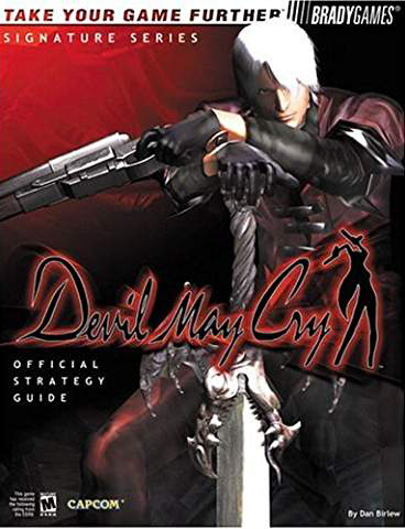 Devil May Cry Official Strategy Guide by BradyGames