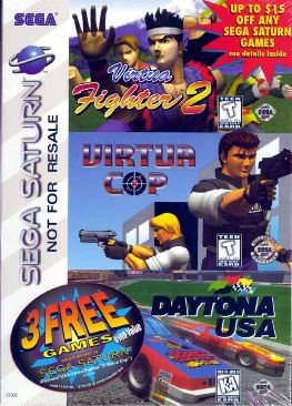 Virtua Fighter 2, Virtua Cop, Daytona USA