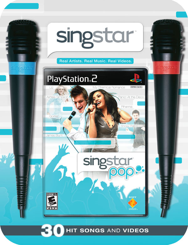 SingStar Pop Bundle with Microphone