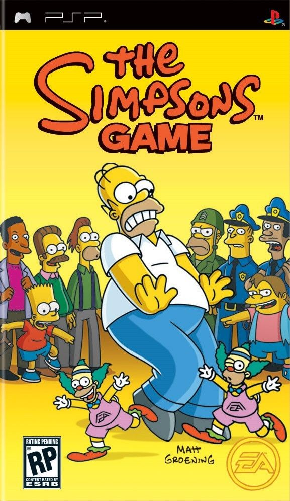 Simpsons Game, The