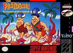 Flintstones: The Treasure of the Sierra Madrock