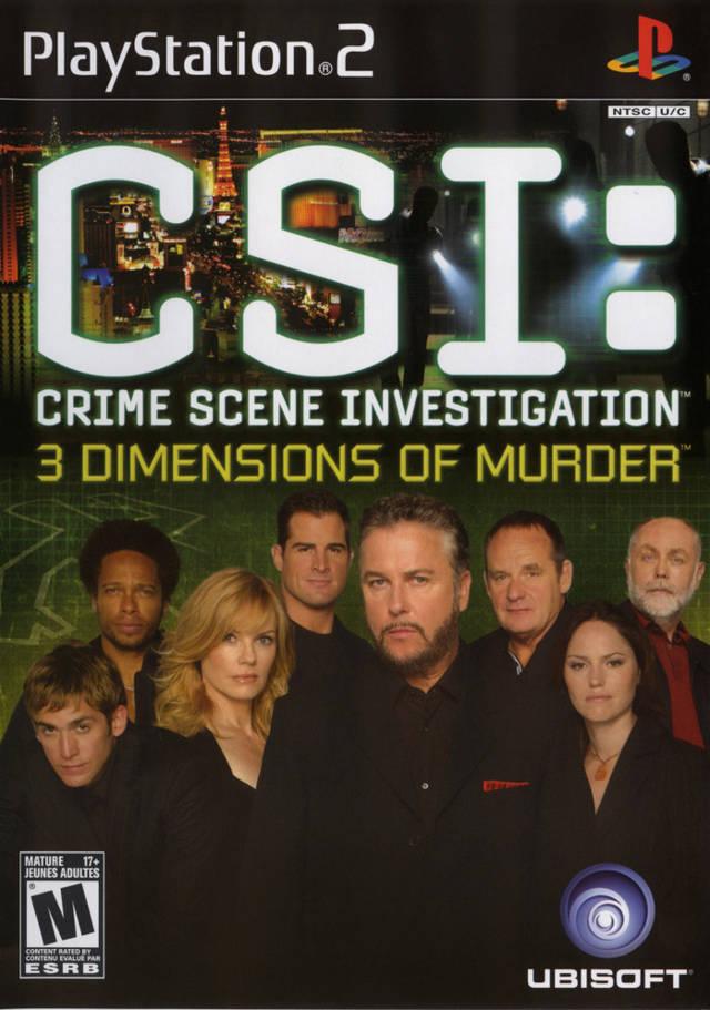 CSI: 3 Dimentions of Murder