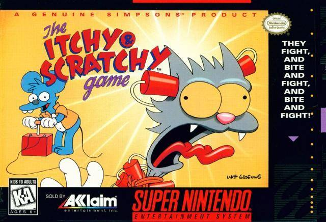 Itchy & Scratchy Game