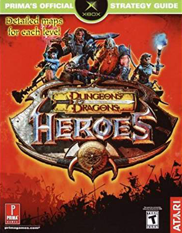 Dungeons & Dragons Heroes Official Strategy Guide