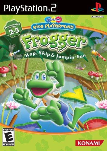 Konami Kids Playground: Frogger Hop, Skip & Jumpin' Fun w/ Dance Mat
