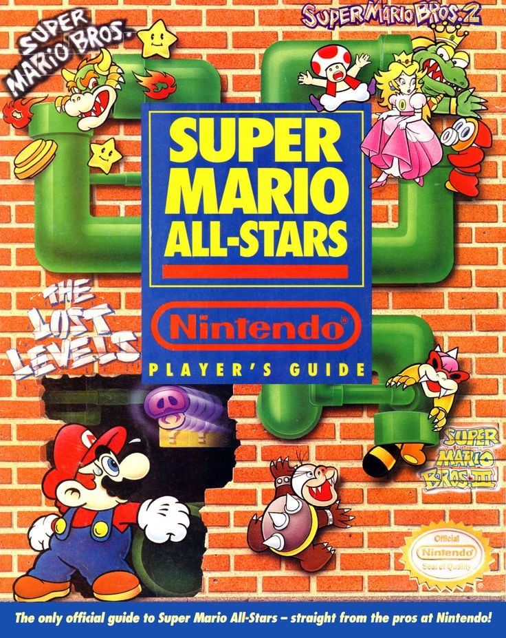 Super Mario All-Stars Nintendo Player's Guide