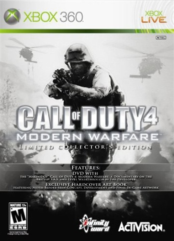 Call of Duty 4: Modern Warfare Limited Collector's Edition