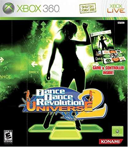 Dance Dance Revolution Universe 2 Bundle