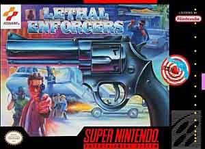 super nintendo guns