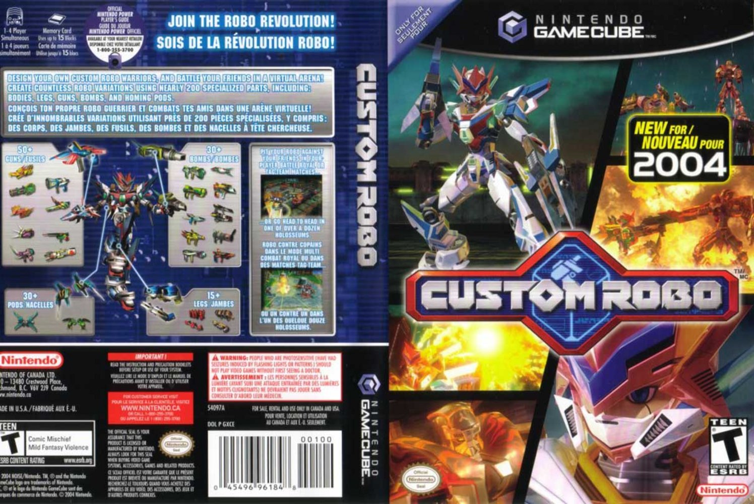 Custom Robo Official Player's Guide