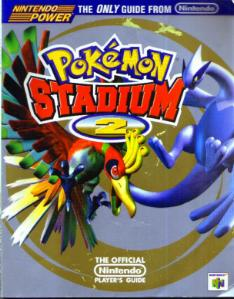 Pokemon Stadium 2 Nintendo Power Player's Guide