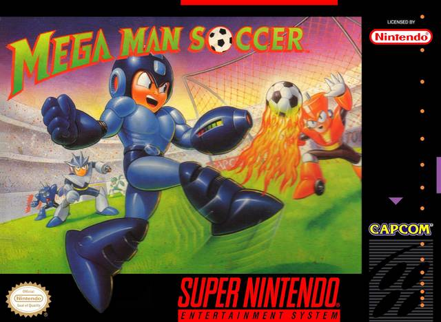Mega Man Soccer