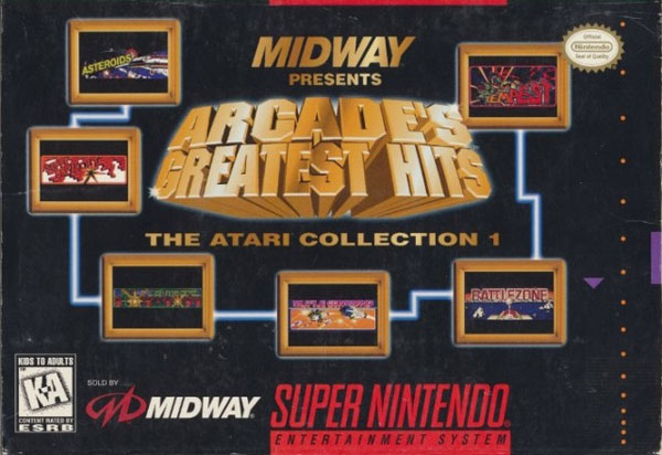Midway Arcade's Greatest: The Atari Collection 1