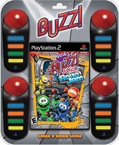 Buzz! Jr. Robo Jam Bundle