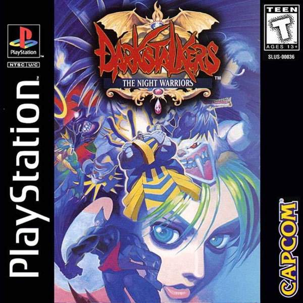 DarkStalkers: The Night Warriors Official Strategy Guide