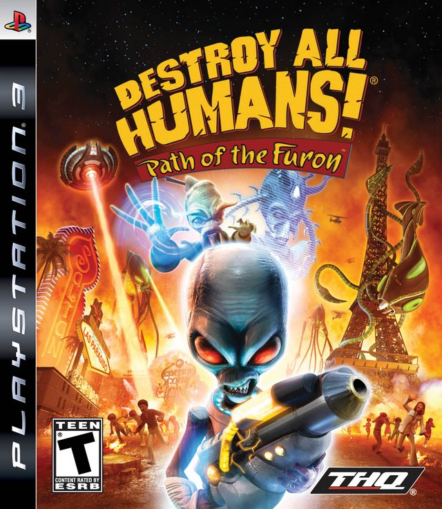 Destroy all humans! Path of the furon [freeboot/eng] » скачать.
