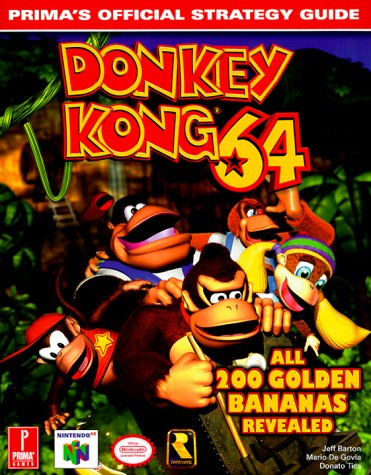Donkey Kong 64 Official Strategy Guide