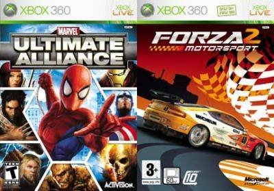 Marvel Ultimate Alliance & Forza Motorsport 2 Bundle