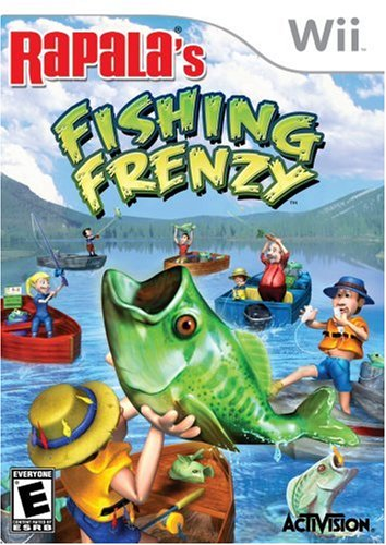 Rapala's Fishing Frenzy with Rod & Reel