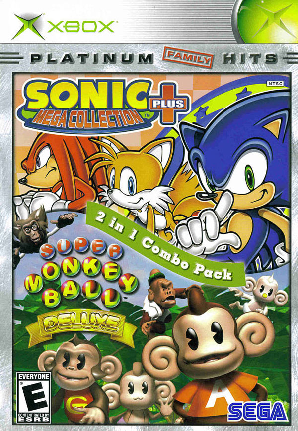 Sonic Mega Collection Plus / Super Monkey Ball Deluxe 2-in-1 Combo Pack