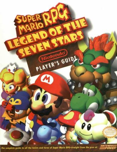 Super Mario RPG Legend of Seven Stars Nintendo Player's Guide