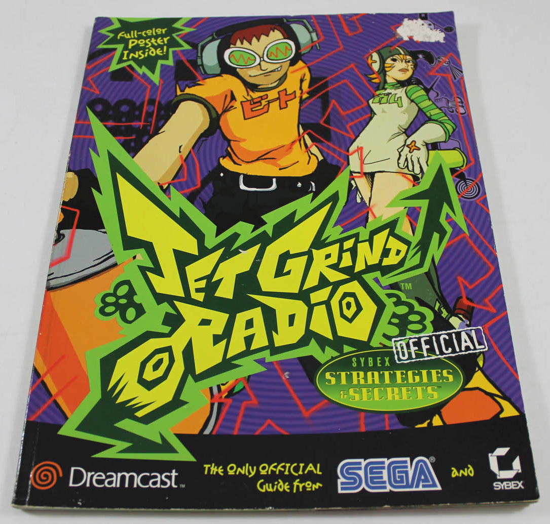 Jet Grind Radio Official Strategy Guide Book