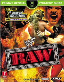 WWF Raw Official Strategy Guide Book