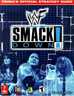 WWF Smack Down Official Strategy Guide Book