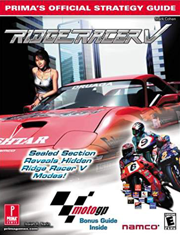 Ridge Racer V Official Strategy Guide Book