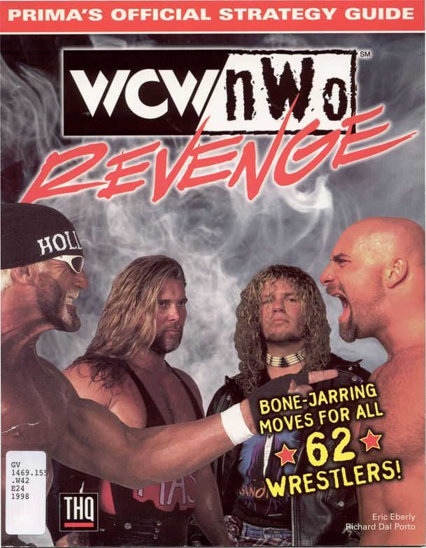 WCW NWO Revenge Official Strategy Guide Book