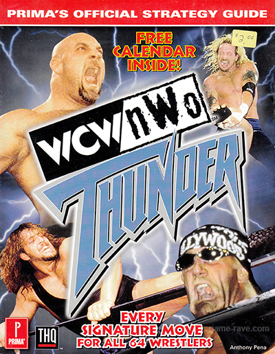 WCW/NWO Thunder Official Strategy Guide Book