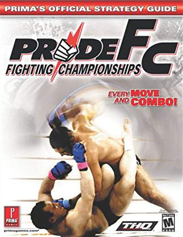 Pride FC Official Strategy Guide Book