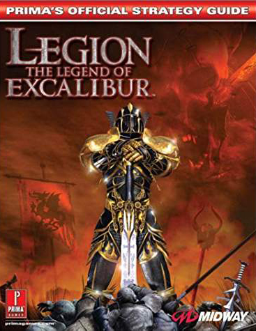 Legion: Legend of Excalibur Official Strategy Guide Book