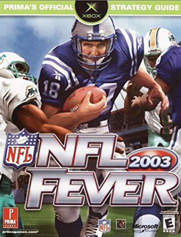 NFL Fever 2003 Official Strategy Guide Book