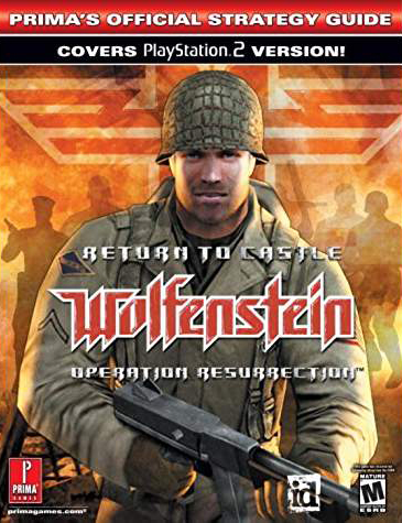 Return to Castle Wolfenstein: Operation Resurrection Official Strategy Guide Book
