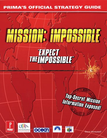 Mission Impossible Official Strategy Guide Book