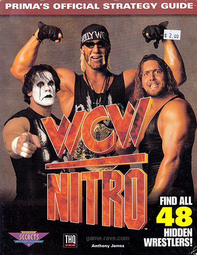 WCW Nitro Official Strategy Guide Book