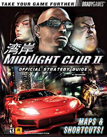 Midnight Club 2 Official Strategy Guide Book
