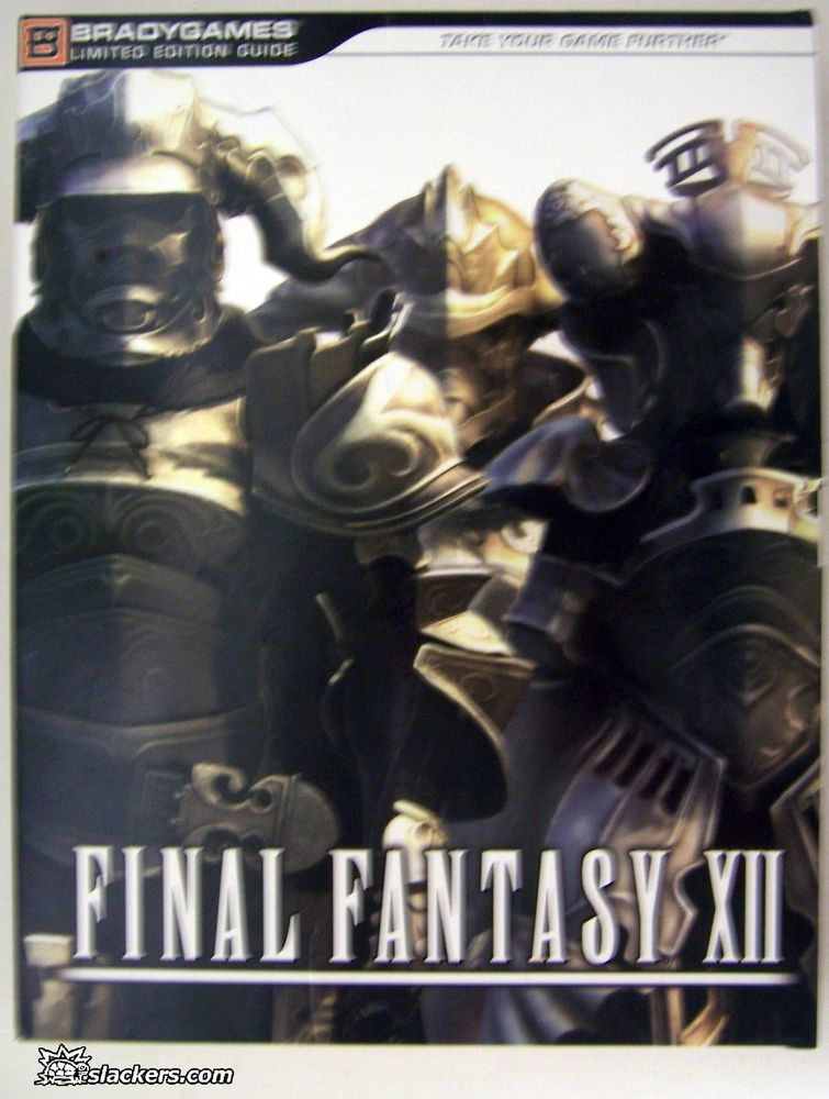 Final Fantasy XII Official Strategy Guide Book Collector's ED