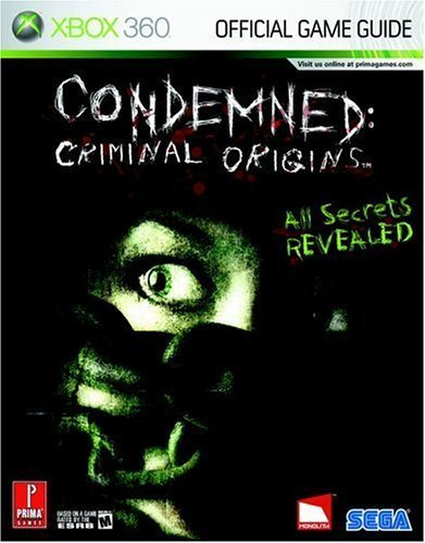 Condemned: Criminal Origins Official Strategy Guide Book