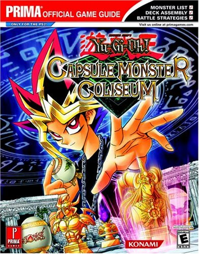 Yu-Gi-Oh! Capsule Monster Coliseum Official Strategy Guide Book