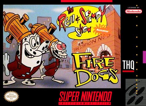 Ren & Stimpy Show Fire Dogs