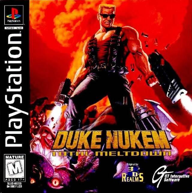 Duke Nukem Total Meltdown Official Strategy Guide Book