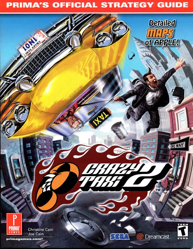 Crazy Taxi 2 Official Strategy Guide Book