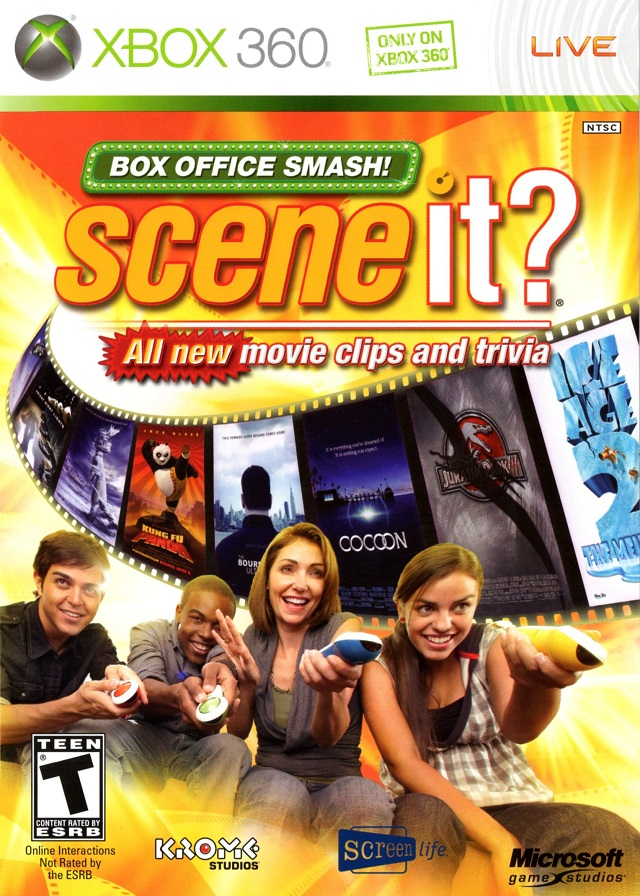 Scene It? Box Office Smash Game Only