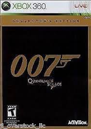 Bond 007: Quantum of Solace Collectors Edition