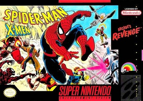 Spider-man X-Men: Arcade's Revenge